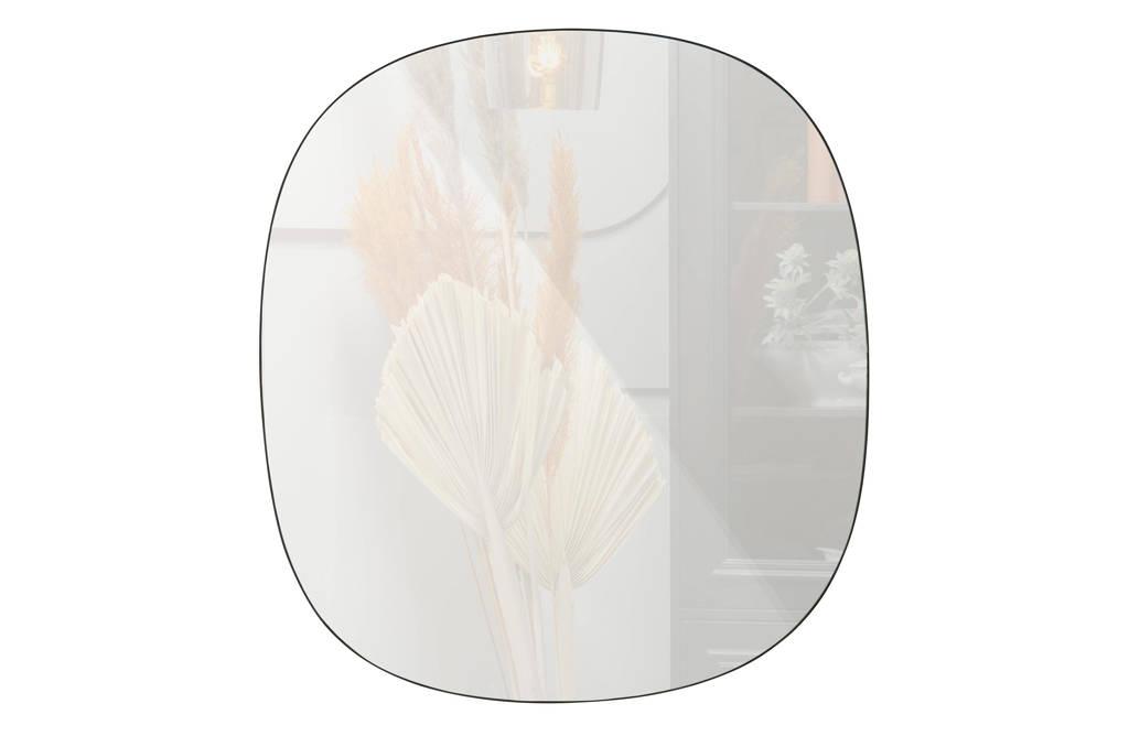WOOOD Exclusive spiegel Philou   (55x0,5 cm), Zwart