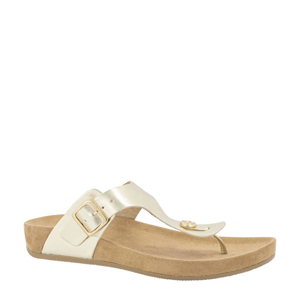 Graceland   slippers goudkleurig, Goud
