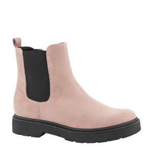 chelsea boots roze