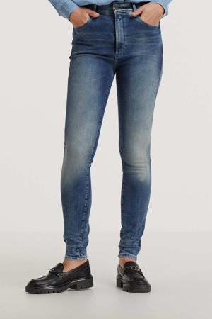 Kafey high waist skinny jeans antic faded kyanite