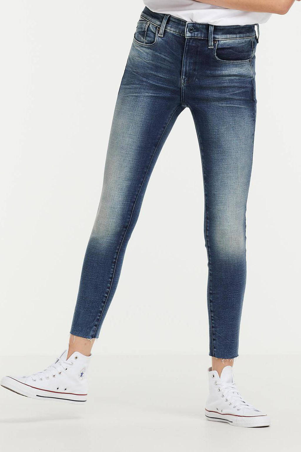 G-Star RAW Lhana cropped high waist skinny jeans faded clear sky, Faded clear sky