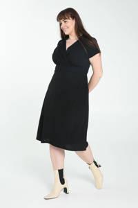 PROMISS A-lijn jurk zwart, Zwart