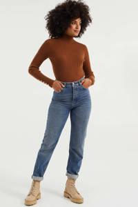 WE Fashion Blue Ridge mom jeans marbled blue denim, Marbled Blue Denim