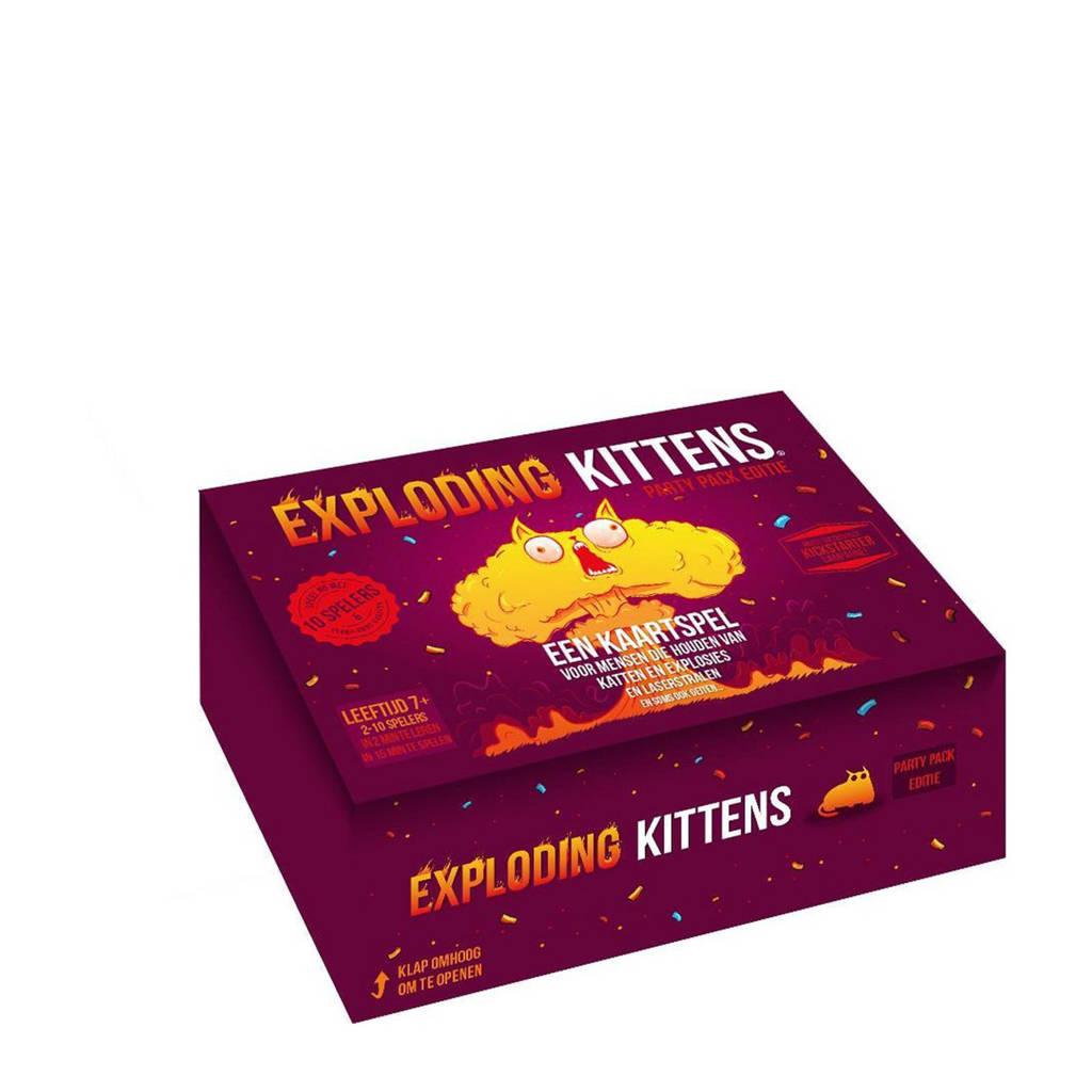 Exploding Kittens Exploding Kittens Party Pack NL kaartspel