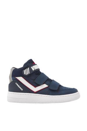 Odiso Mid Velcro  hoge nubuck sneakers blauw