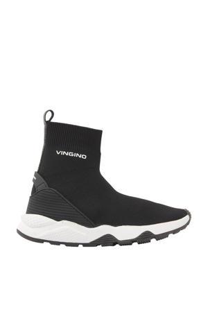 Gino  sock sneakers zwart