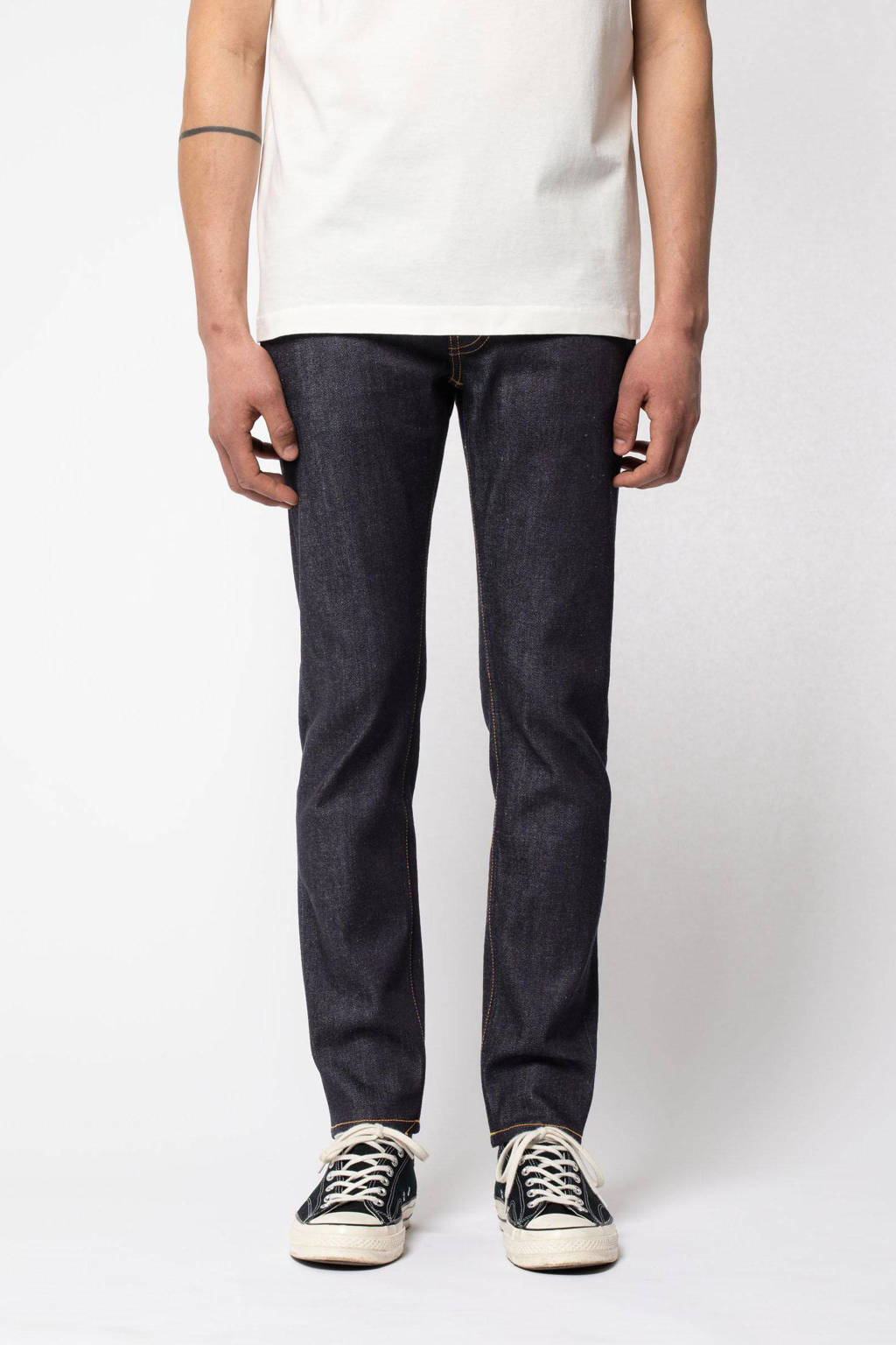 Nudie Jeans slim fit jeans Lean Dean dry indigofera, Dry Indigofera