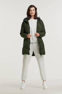 B.Young gewatteerde jas BYBOMINA groen, Groen