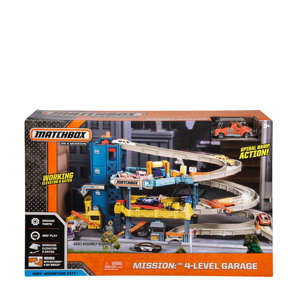 Matchbox  4 Level Garage
