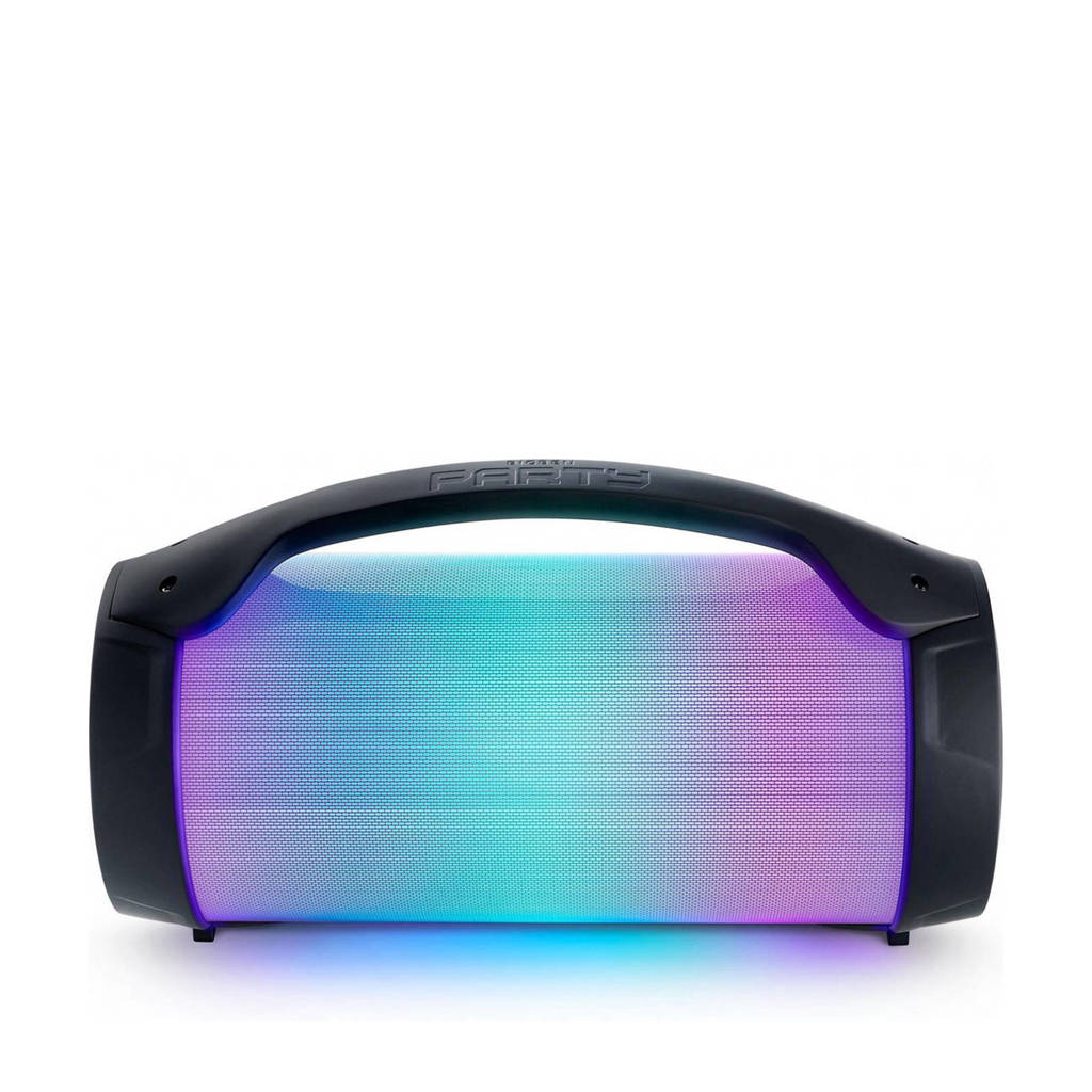 BigBen PARTYBTLITE  bluetooth speaker, Zwart