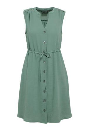 A-lijn jurk olijfgroen