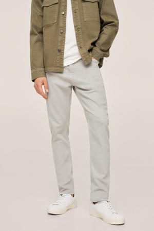 tapered fit jeans changeant grijs