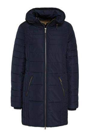 gewatteerde jas Nina 1 donkerblauw