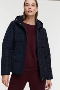 Soyaconcept gewatteerde jas Nina donkerblauw, Donkerblauw