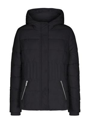 gewatteerde jas Nina zwart