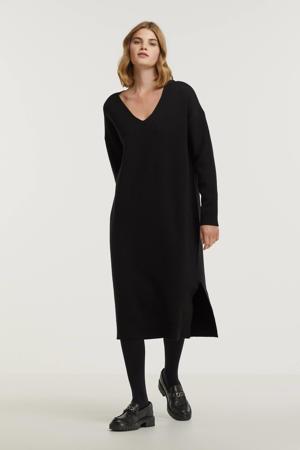 fijngebreide jurk Rosalia zwart