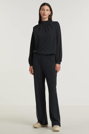wide leg palazzo broek Lana zwart