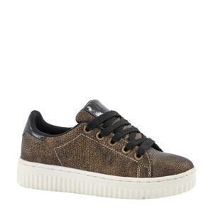 sneakers bronskleurig