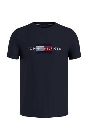 +size regular fit T-shirt Plus Size van biologisch katoen desert sky