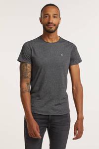 Tommy Jeans T-shirt Jaspe met biologisch katoen Black
