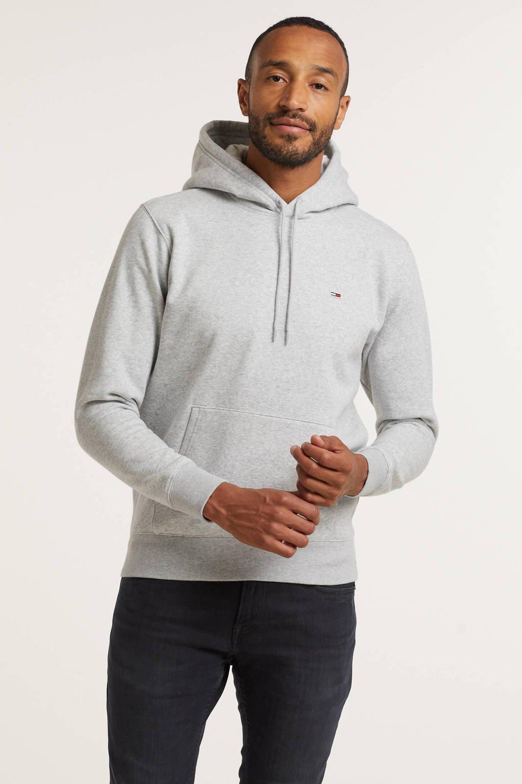 Tommy Jeans hoodie light grey, Light Grey