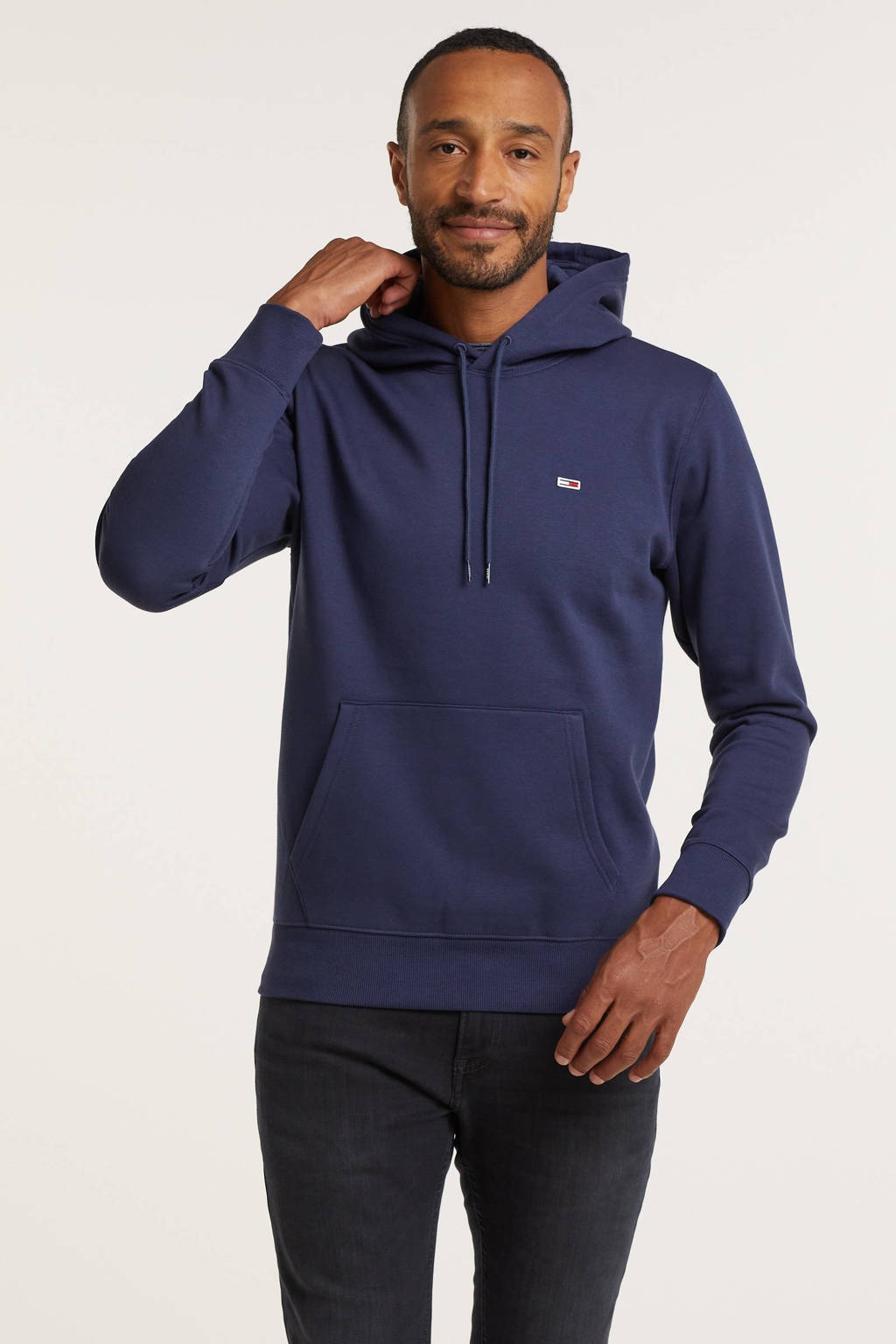 Tommy Jeans hoodie twilight navy, Twilight Navy