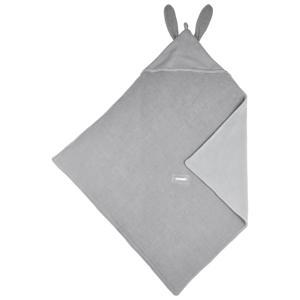 X Mrs. Keizer wikkeldeken Rabbit silver