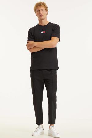 regular fit broek Galfos Milano zwart