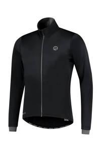 Rogelli   fietsjack Essential zwart, Zwart