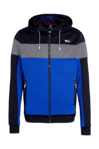 Sjeng Sports   sportvest Gael kobaltblauw/donkerblauw, Kobaltblauw/donkerblauw