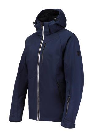 softshell ski-jack Spectrum donkerblauw