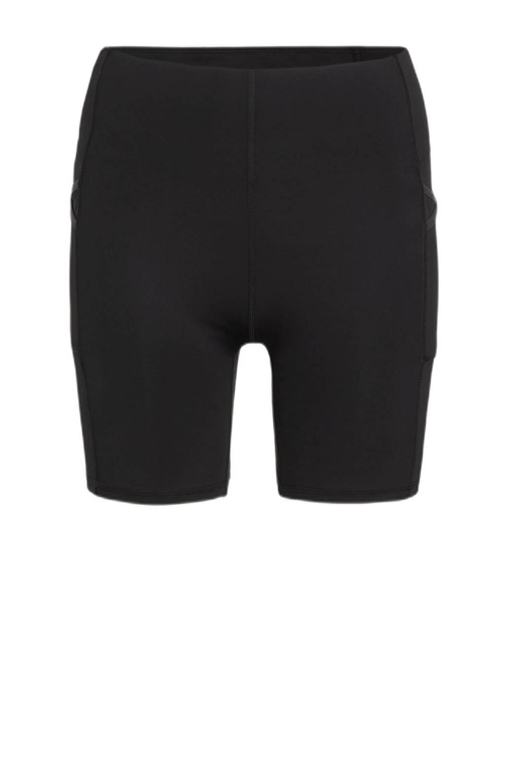 Superdry Sport hardloopshort zwart, Zwart