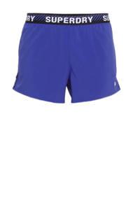 Superdry Sport sportshort kobaltblauw, Kobaltblauw