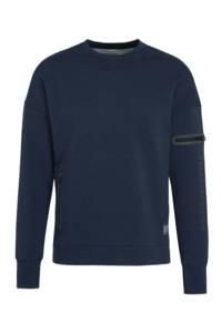 Superdry Sport   sportsweater donkerblauw, Blauw
