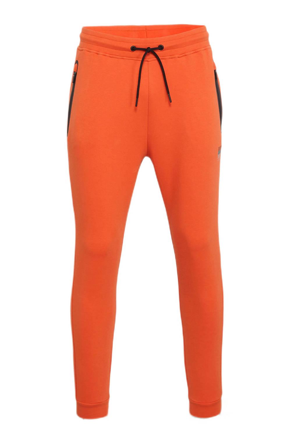 Superdry Sport   trainingsbroek oranje, Oranje