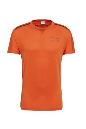 hardloop T-shirt oranje