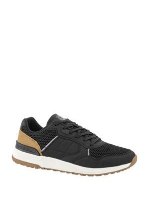 sneakers zwart/bruin