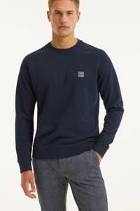 BOSS Casual sweater Westart donkerblauw, Donkerblauw