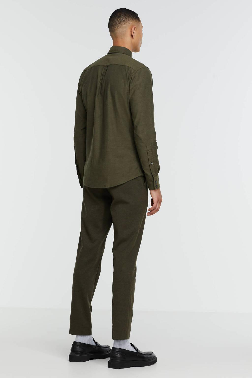 BOSS Casual regular fit overhemd Mabsoot 308 dark green, 308 Dark Green