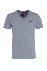Superdry gemêleerd T-shirt tois blue grit, Tois Blue Grit