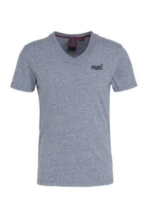 gemêleerd T-shirt tois blue grit