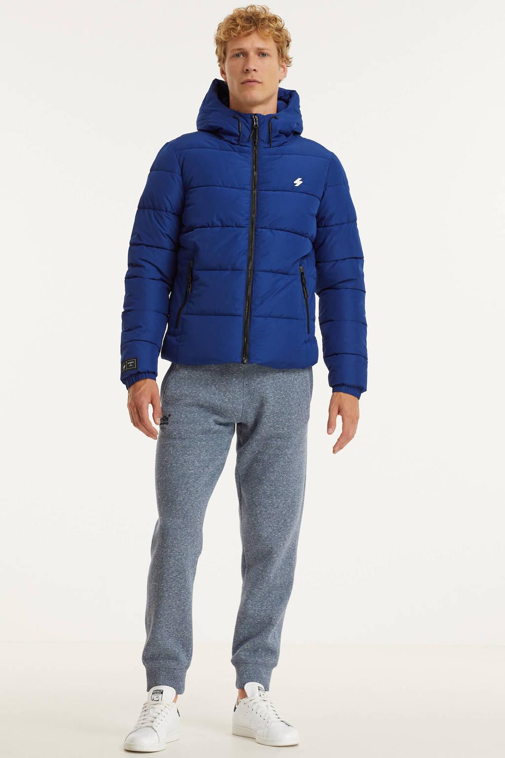 Superdry  jas blauw, Blauw