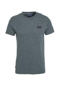 Superdry T-shirt antraciet, Antraciet
