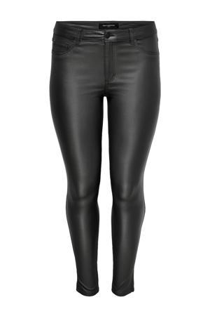 coated skinny broek CARPUNK zwart