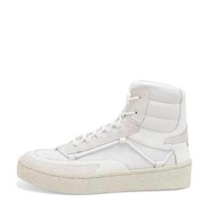 Jazzlyn  hoge leren sneakers wit