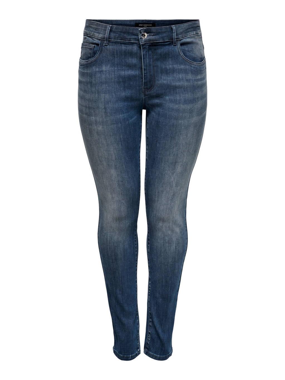ONLY CARMAKOMA skinny jeans CARSALLY dark denim, Dark denim