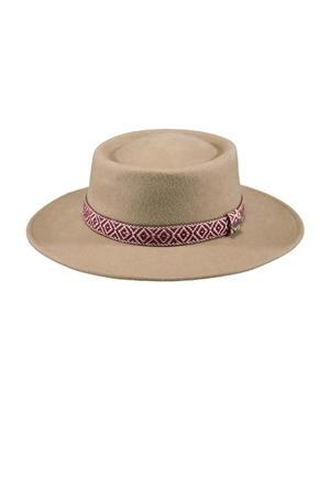 hoed Fawne lichtbruin