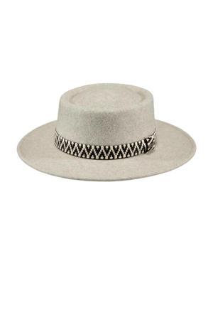 hoed Fawne lichtgrijs