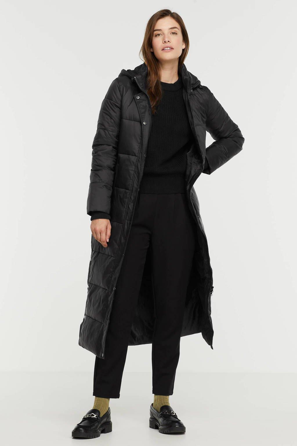 SisterS Point gewatteerde jas DUSTY-JA zwart, Zwart