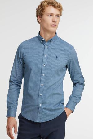 regular fit overhemd met all over print bluewindows